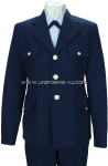 U.S. COAST GUARD AUXILIARY FEMALE SERVICE DRESS BLUE COAT