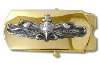 us navy buckle chief petty officer surface warfare
