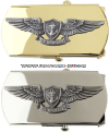 us navy aviation warfare belt buckle