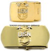 U.S. NAVY MASTER CHIEF PETTY OFFICER BELT BUCKLE