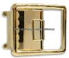 US MARINE CORPS BUCKLE ANODIZED OPEN FACE