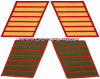 MARINE CORPS SERVICE STRIPES (SET OF 7)