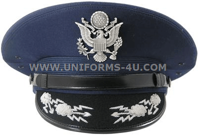 0dce08776d680 USAF FIELD-GRADE SERVICE CAP