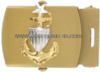 COAST GUARD BUCKLE AND TIP MALE SENIOR CHIEF PETTY OFFICER