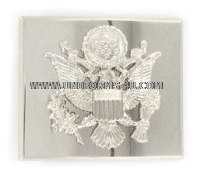 USAF HONOR GUARD OFFICER BUCKLE WITH COAT OF ARMS EMBLEM