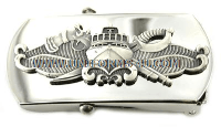 US Navy Special Warfare Combatant Craft Crewman Belt Buckle