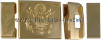 army enlisted ceremonial buckle