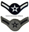 USAF AIRMAN CHEVRONS