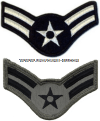 usaf chevron airman first class