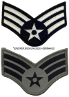 USAF CHEVRON SENIOR AIRMAN