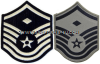 USAF MASTER SERGEANT CHEVRONS WITH DIAMOND