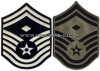 USAF SENIOR MASTER SERGEANT CHEVRONS WITH DIAMOND