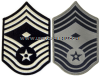 USAF CHIEF MASTER SERGEANT CHEVRONS WITH DIAMOND