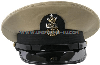 U.S. NAVY MASTER CPO OF THE NAVY KHAKI COMBINATION CAP