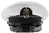 U.S. NAVY MASTER CPO OF THE NAVY WHITE COMBINATION CAP