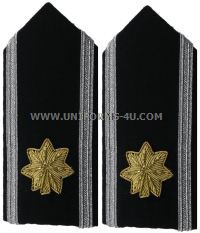 usaf major female mess dress shoulder boards