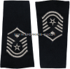 usaf master sergeant with diamond epaulets