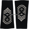 usaf chief master sergeant with diamond epaulets