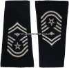usaf senior master sergeant with diamond epaulets