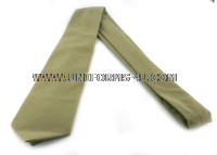 USMC FOUR IN HAND TIE KHAKI