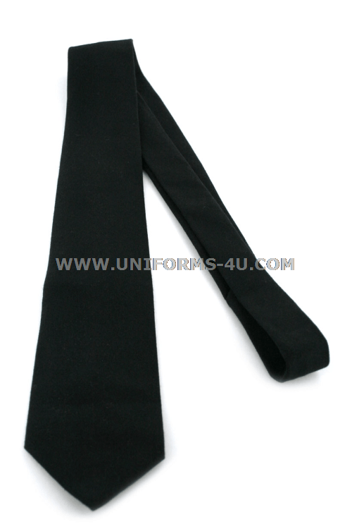 Us army black four in hand tie ccuart Choice Image