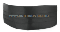 US ARMY BLACK CUMMERBUND