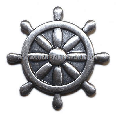 U.S. NAVY QUARTERMASTER (QM) BALL CAP DEVICE