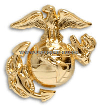 marine corps Enlisted dress cap device