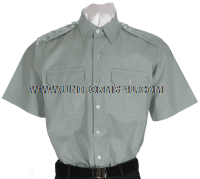 U.S. ARMY MALE ARMY GREEN SHORT-SLEEVED SHIRT