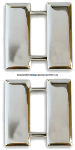 U.S. Army Captain Pin-On Metal Rank Insignia