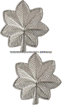 U.S. Army Lieutenant Colonel Pin-On Metal Rank Insignia