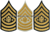 U.S. ARMY SERGEANT MAJOR OF THE ARMY CHEVRONS