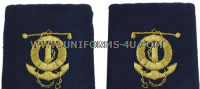 COAST GUARD MARINE SAFETY SPECIALIST DECK WARRANT OFFICER ENHANCED SHOULDER BOARDS