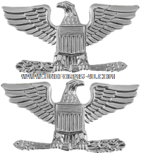 U.S. NAVY / USCG CAPTAIN AND USMC COLONEL COAT RANK DEVICES