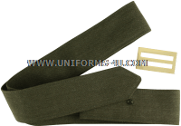 USMC SERVICE COAT BELT AND SLOTTED BUCKLE