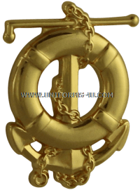 COAST GUARD MARINE SAFETY SPECIALIST DECK COLLAR DEVICE