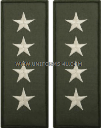 U.S. NAVY ADMIRAL EMBROIDERED RANK INSIGNIA FOR FLIGHT SUIT