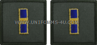 U.S. NAVY WO1 EMBROIDERED RANK INSIGNIA FOR FLIGHT SUIT