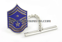 air force tie tac senior master sergeant with diamond