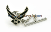 air force tie tac with eagle device (new)