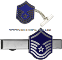 air force tie bar new master sergeant