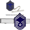 AIR FORCE TIE BAR SENIOR MASTER SERGEANT