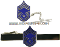 air force tie bar chief master sergeant