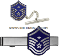 air force tie bar master sergeant with diamond