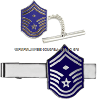 AIR FORCE tie bar senior master sergeant with diamond