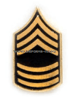 army tie tac master sergeant