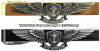 U.S. NAVY ENLISTED AVIATION WARFARE SPECIALIST TIE CLASP