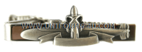 NAVY TIE CLASP SILVER ENLISTED WITH SUBMARINE SSBN DET. PATROL