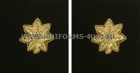 marine corps major rank insignia synthetic embroidered