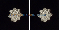 marine corps lieutenant colonel rank insignia synthetic embroidered